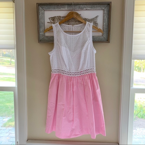 "Lilly Pulitzer Dresses & Skirts - NWT Lilly Pulitzer ""Alivia"" Dress, pink seersucker"